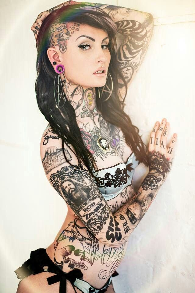 Answer matchless... Suicide girls tattoos that interrupt