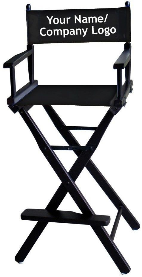 This One Can Be Personalised Tall Directors Chair 234 90 Aud Free Delivery Directors Chair Chair Furniture