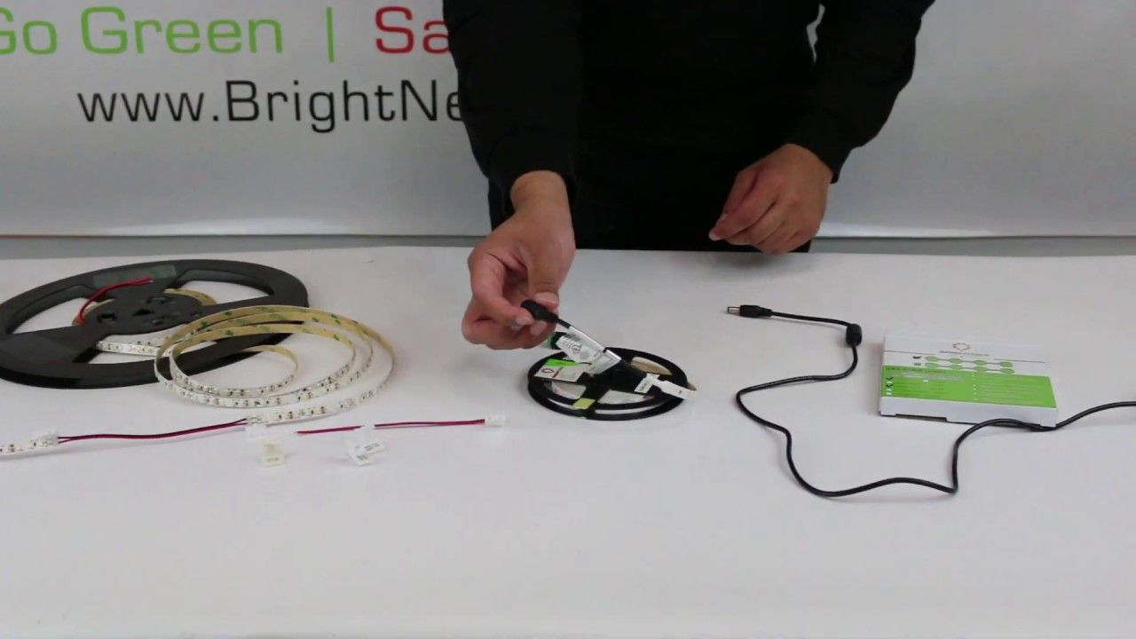 How to install 12v ul strip lights to different
