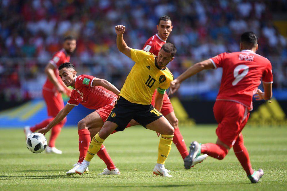 Ve la repetición de Bélgica vs Túnez completo en el