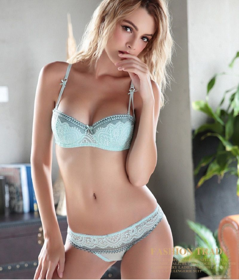 47b6e3707f931 Cheap bra panty set, Buy Quality sexy women bra set directly from China bra  set Suppliers: A/B/C/D cup summer style sexy transparent women bra brief  sets ...