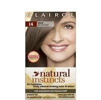 Clairol Natural Instincts Semi Permanent Temporary Wash Out Hair Color Light Ash Brown Light Ash Brown Light Hair Color Wash Out Hair Color