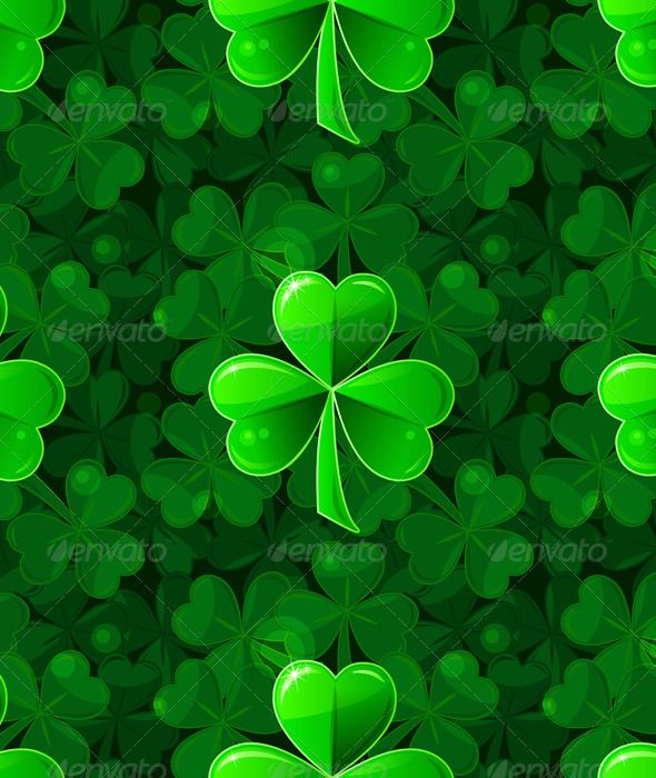 shamrock pattern wallpaper 1366x768 - photo #25