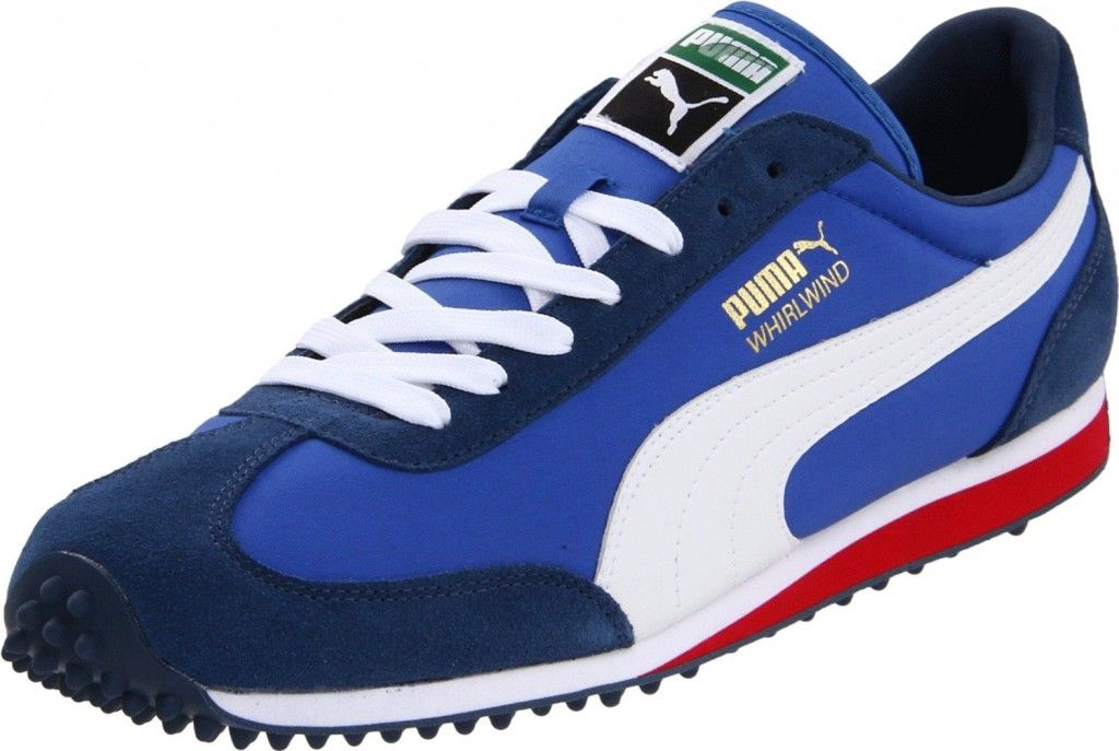 4c560b41c3cf Puma Whirlwind - Blue White Red