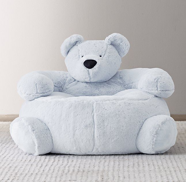 Cuddle Plush Bear Chair Bear Chair Baby Boy Bedding Boys