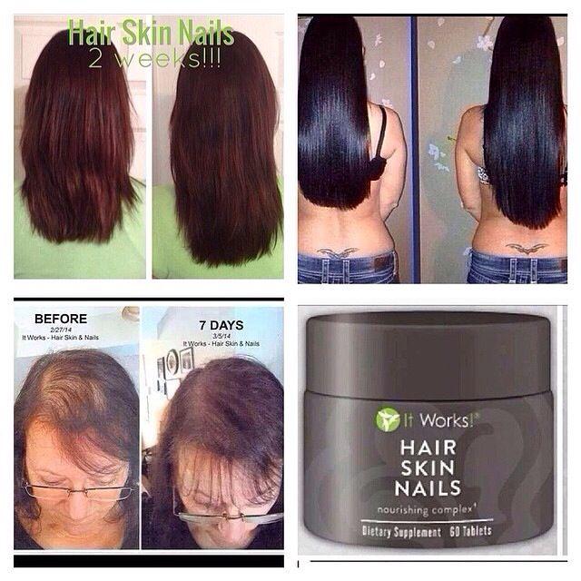 It Works Hair Skin Nails Supplement Www Sarahjwrapsuskinny