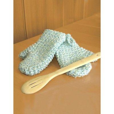 Oven Mitts Crochet Patterns Patterns Yarnspirations Crochet