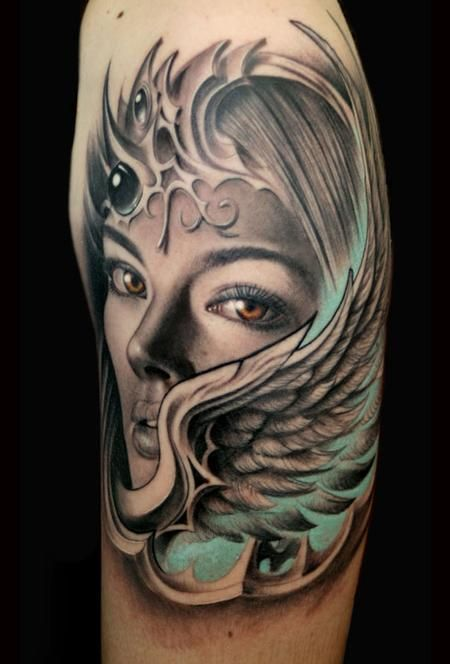 Very Cool Studio Cat Tattoo Addison Tx Artist Rember Valkyrie Tattoo Pagan Tattoo Tattoos