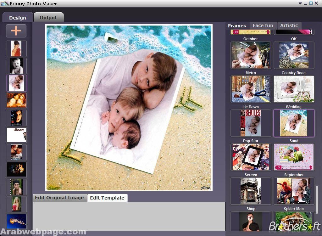 تحميل برنامج اضافة اطارات للصور Funny Photo Maker الصفحة العربية Funny Photo Editing Funny Photo Maker Photo Maker
