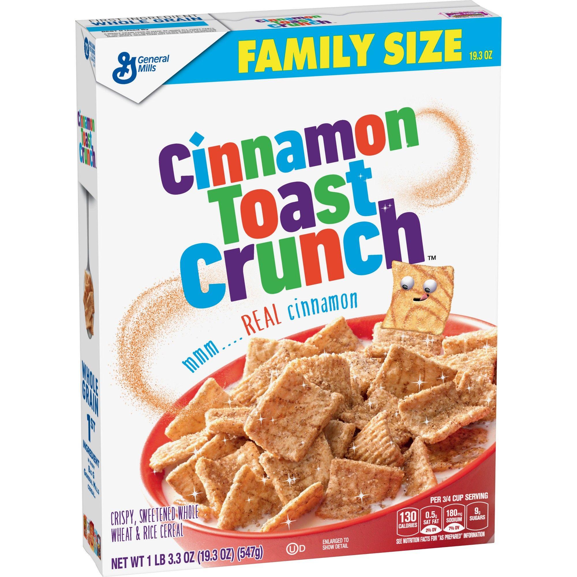 Cinnamon Toast Crunch Breakfast Cereal 19 3oz General Mills
