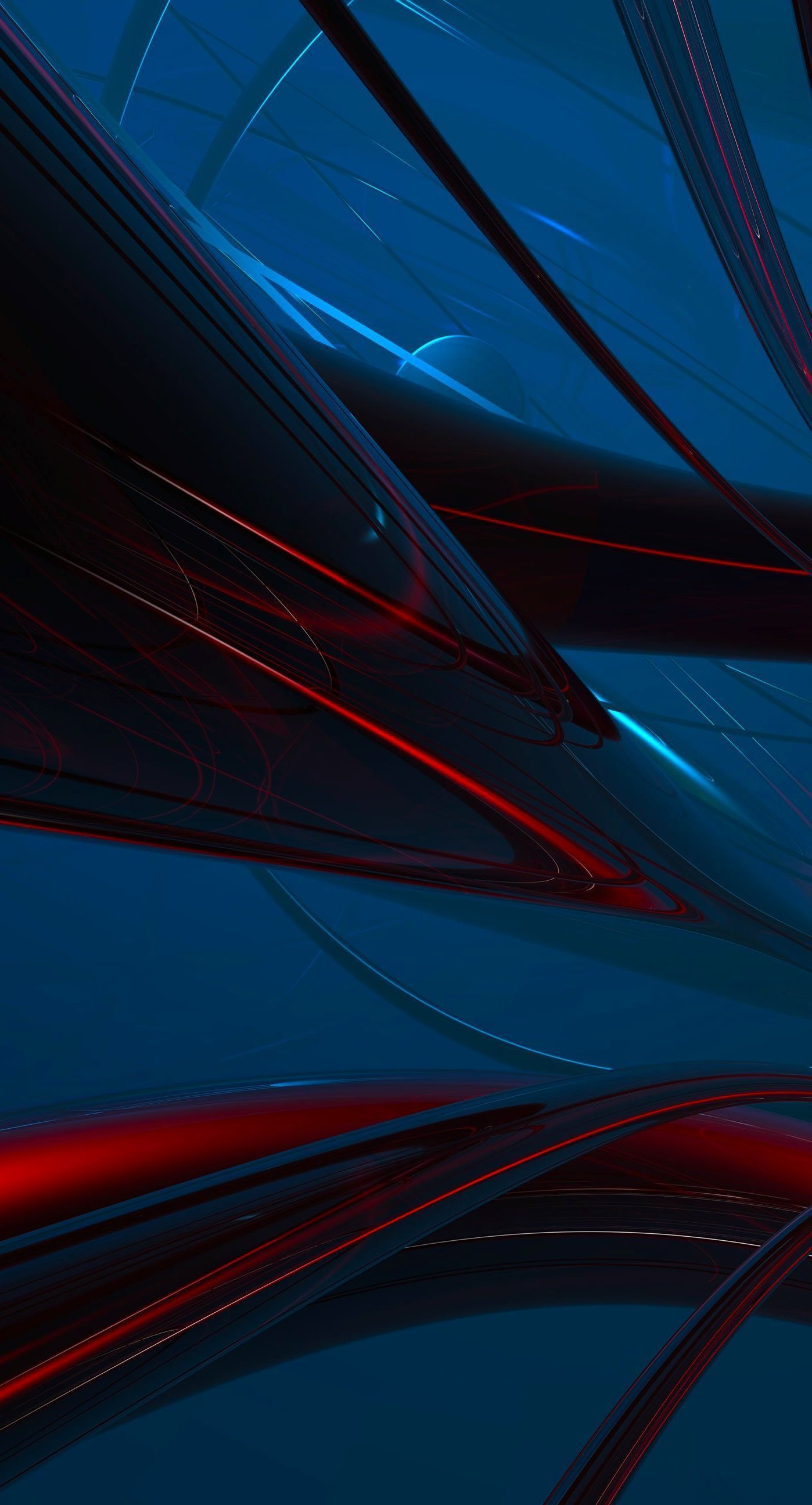 Red And Blue Digital Wallpaper Abstract Digital Art Minimalism Simple Background 3d Abstract Lines Abstract Digital Art Digital Wallpaper Abstract Wallpaper