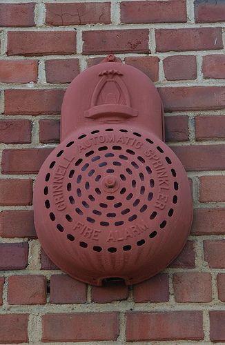 Grinnell Gong Cover Fire Sprinkler System Fire Sprinkler Fire Suppression