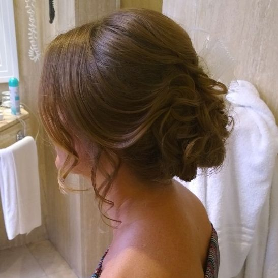 italy destination wedding hairstyles for romantic rustic weddings in Rome italy by Janita Helova