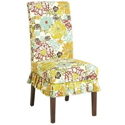 Dana Slipcover Fresh Floral Kitchen Pinterest