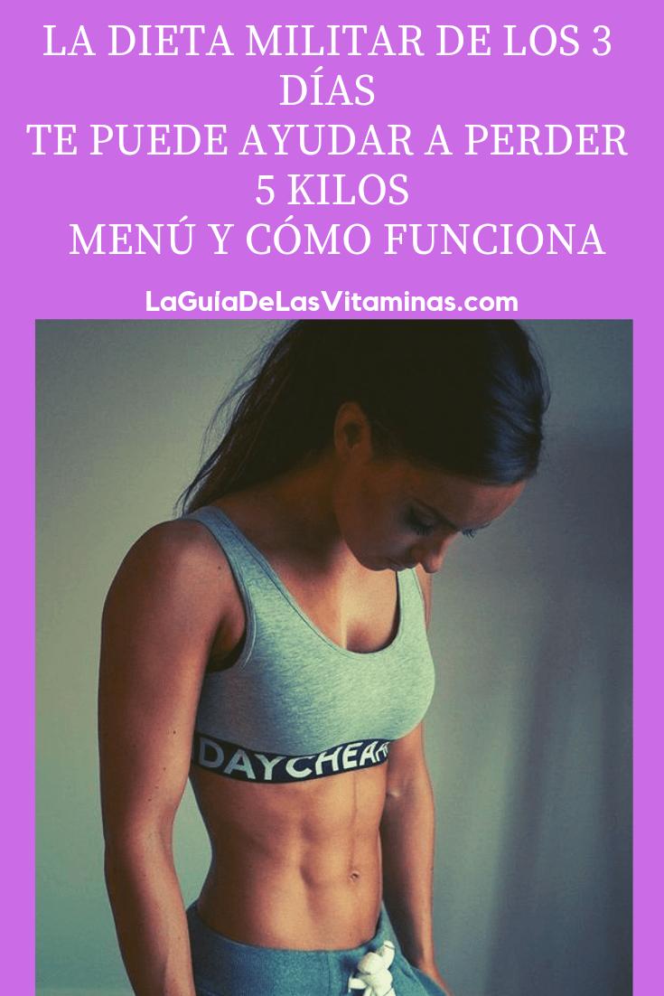 La Dieta Militar De Los 3 Dias Pierdes 5 Kilos Como Funciona Y Menu Workout Guide Health And Fitness Tips Detox Menu