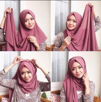 Tutorial Kerudung Pashmina Simple Tanpa Ciput Simple Hijab Hijab Tutorial Pashmina Simple