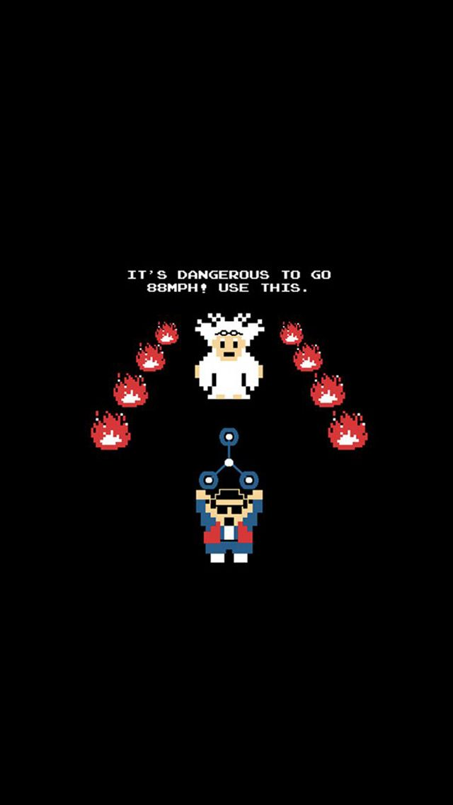 It S Dangerous To Go Alone Marty Future Wallpaper Future Iphone Iphone Wallpaper