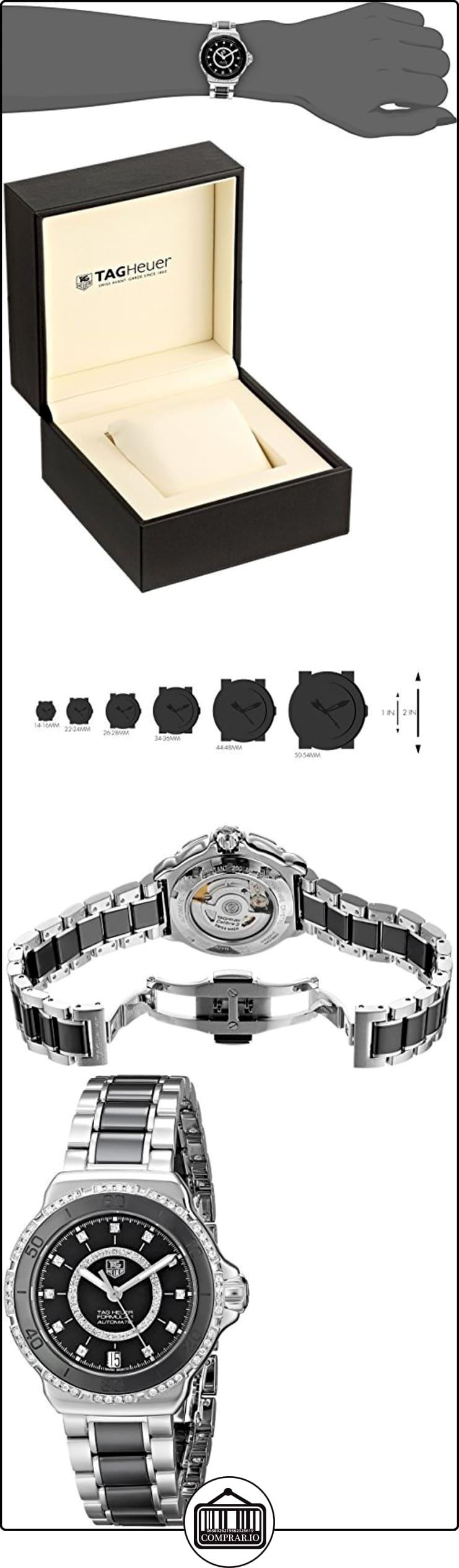 TAG Heuer WAU2212.BA0859 Formula 1 - Reloj automático  ✿ Relojes para hombre - (Lujo) ✿