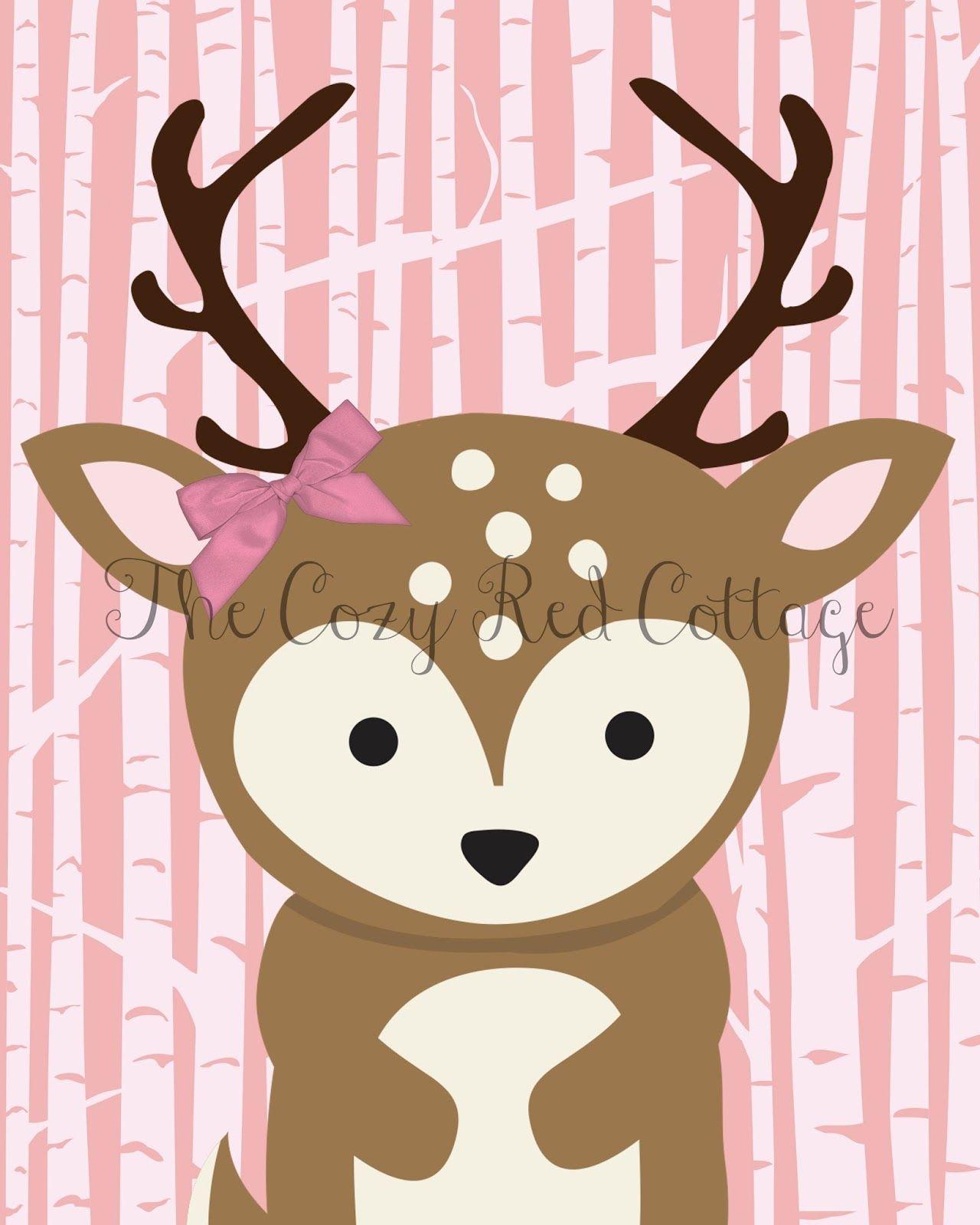 Free Woodland Animal Prints Woodland animal nursery