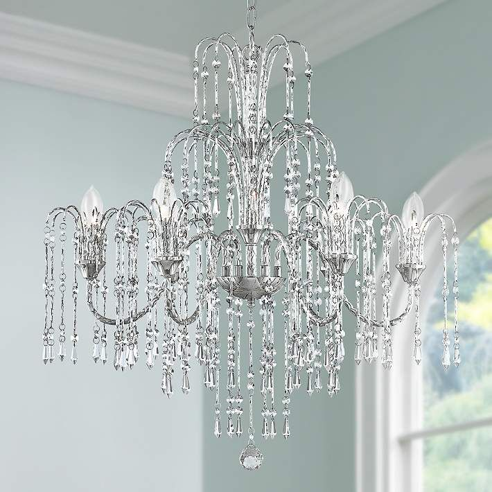 Give Your Home A New Glow With This Chandelier Design By Vienna Full Spectrum Lighting Canopy Is Wide X High Style 92905 At Lamps Plus