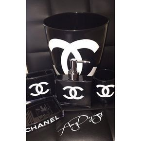 Chanel Bathroom Set By AmyDesignshop On Etsy Omg I Need This