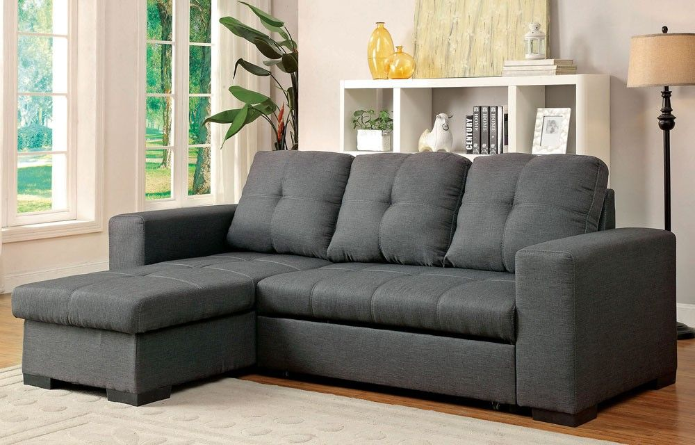 Patten Grey Fabric Sectional Sleeper Grey Sectional Sofa Sectional Sleeper Sofa Sectional Sofa
