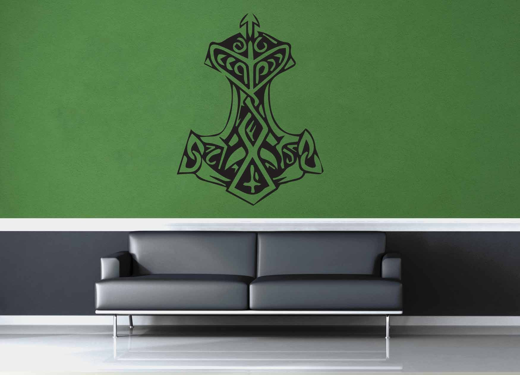 thor s hammer wall decal no 1 wall decals thors hammer and thor