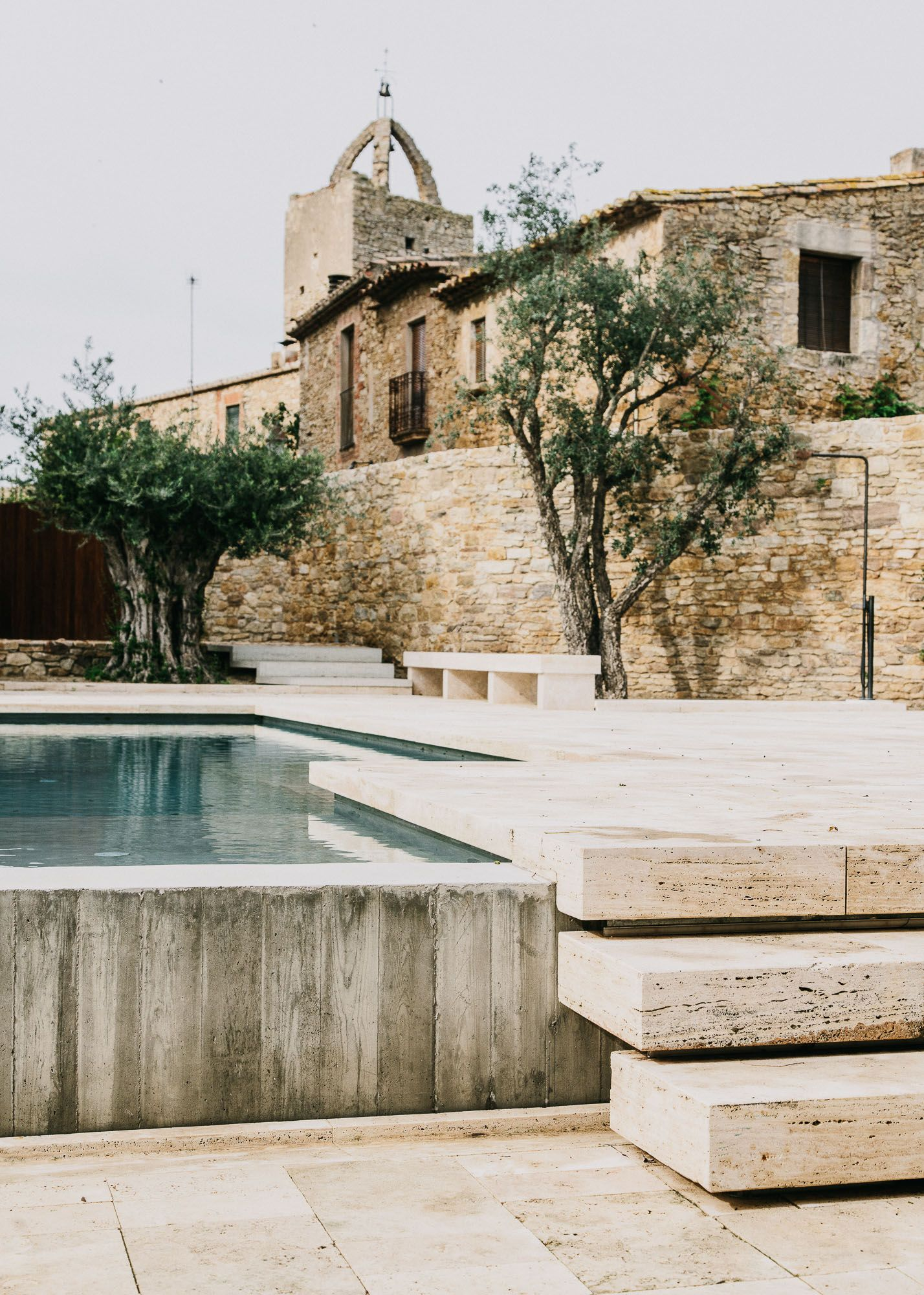 Swimming Pool Of The Week A Medieval Castle Gets An Infinity Pool Gardenista
