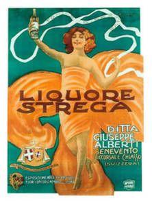 Vintage Liquor Poster by Leonetto Cappiello