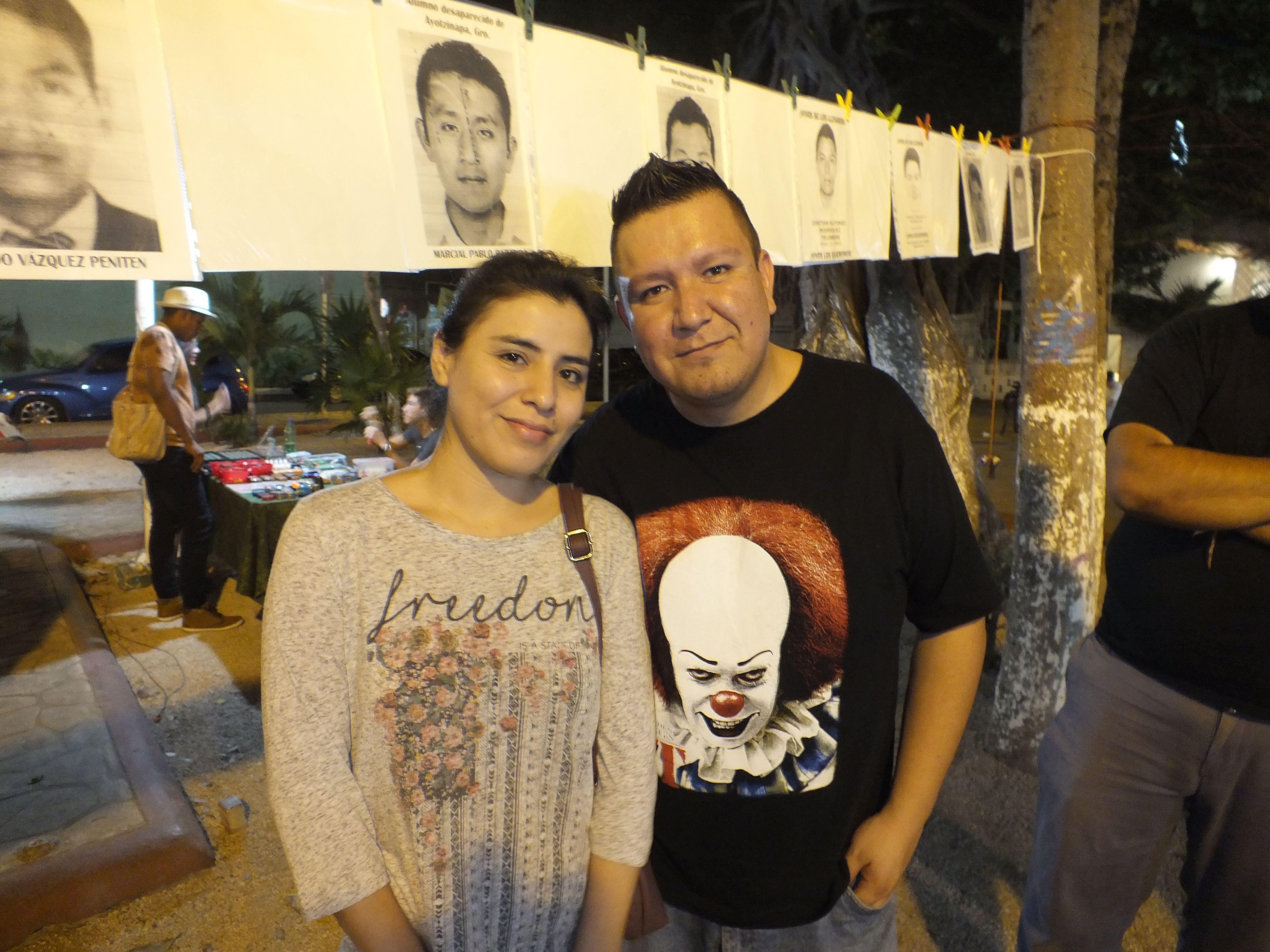 Atziri Bravo y Mauricio Ocampo