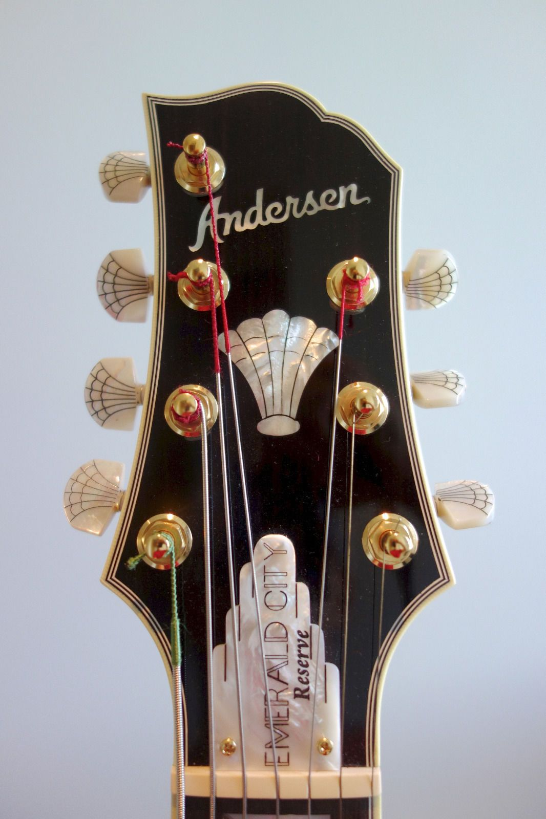 steve andersen emerald city reserve 7 string archtop guitar cool guitars archtop guitar. Black Bedroom Furniture Sets. Home Design Ideas