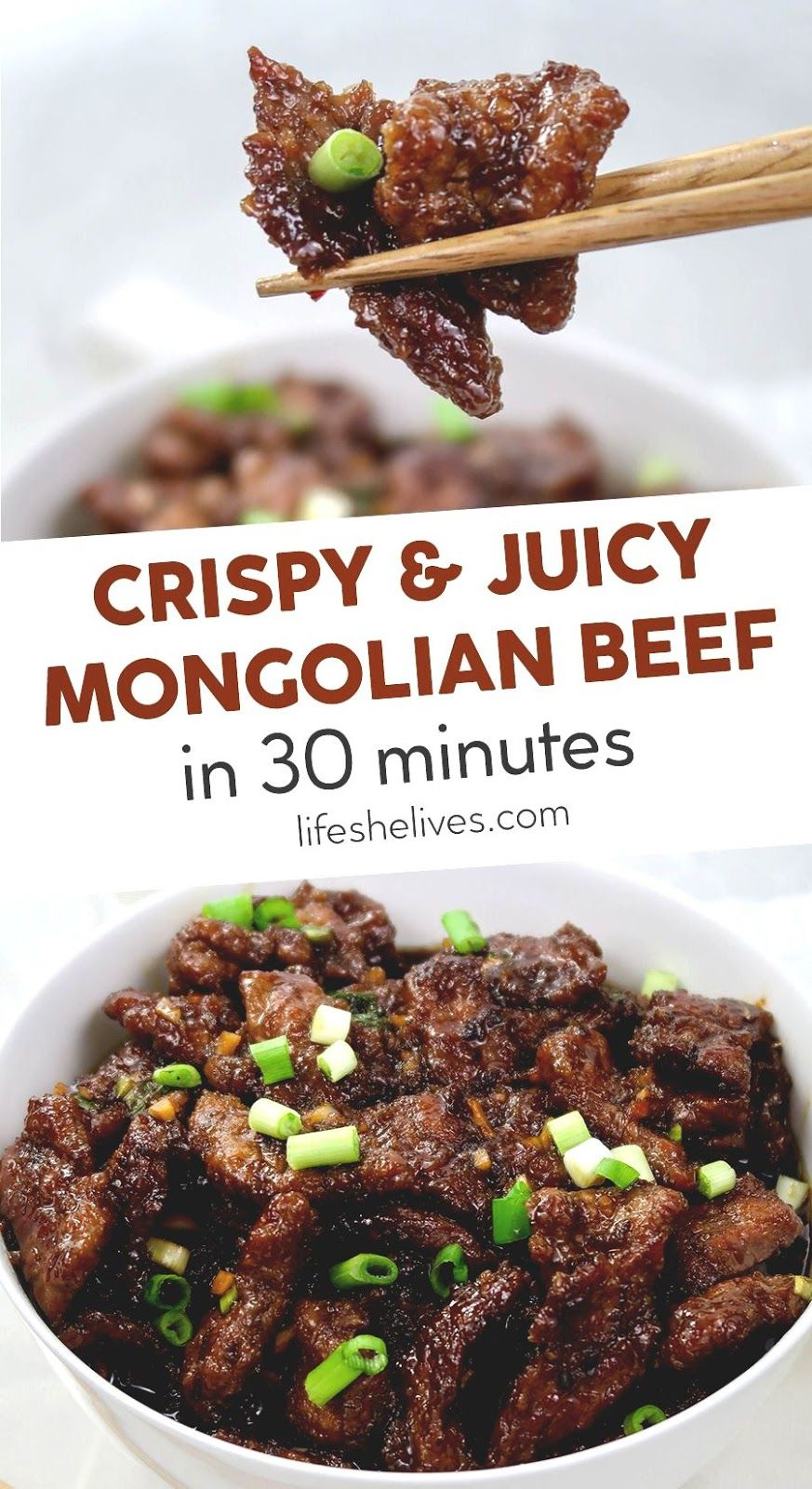 Easy Crispy Mongolian Beef Recipe In 2020 Recipes Mongolian