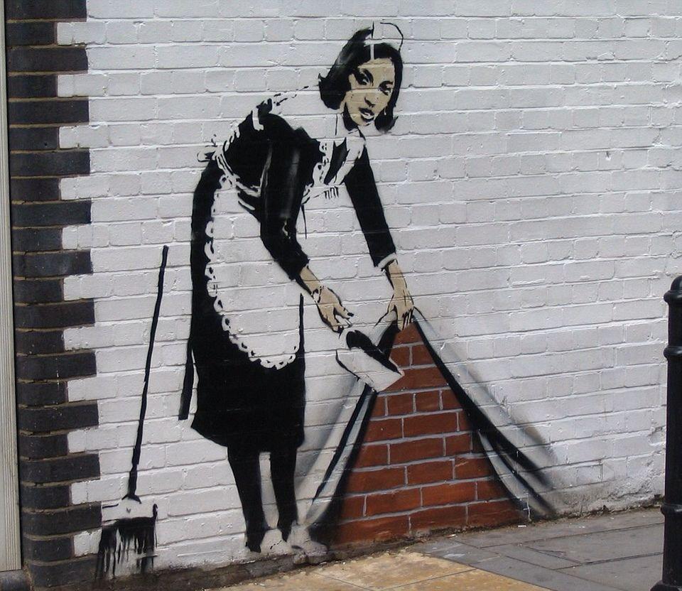 Banksy Street Art   Street Art   Pinterest   Banksy, Street art and ...