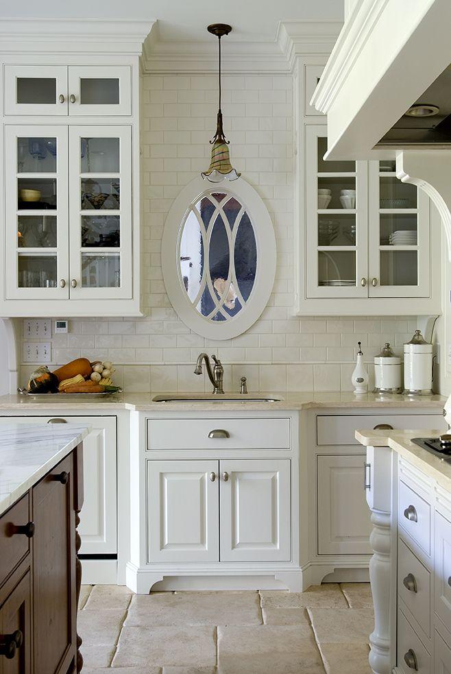 White On White Kitchen Ideas Beauteous Classic White Kitchen James R Salomon Beautiful Kitchens 7916 3