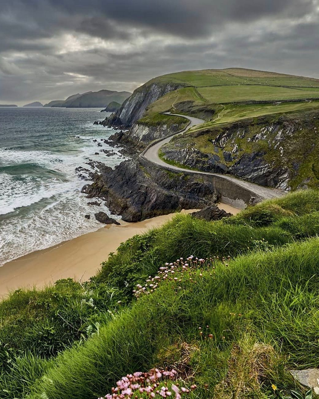 Slew Head Drive Dingle Peninsula Co Kerry Ireland Image By Jorn Petersen Marvelatireland Images Of Ireland Ireland Travel Travel