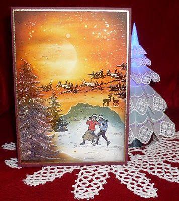 Silvis Hobbywelt - ambarcațiunile de pergament și mult mai mult: carduri extraordinare de Crăciun pentru mine - 2009