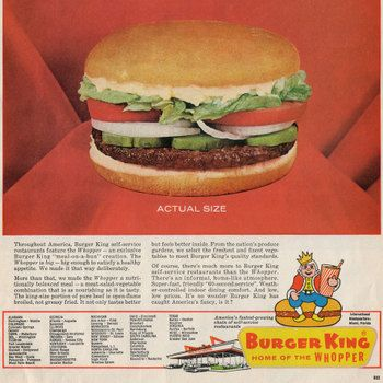 Found In Mom S Basement Vintage Fast Food Advertising Vintage Ads Food Food Ads Fast Food Advertising