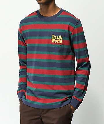 3fcea851 Deathworld Stripe Long Sleeve Pocket Shirt | Clothes in 2019 ...