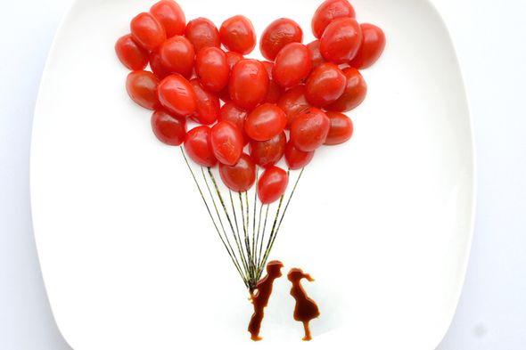 Artista cria imagens incríveis com... comida! - Fique Ligado - Recreio On-line