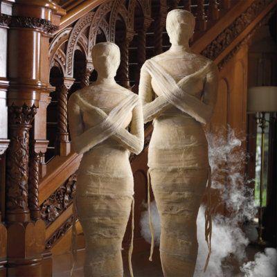 Life-size Halloween Mummy I Want My Mummy Pinterest - life size halloween decorations