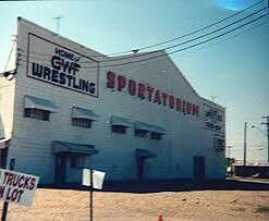 The Dallas Sportatorium. 1000 S. Industrial Blvd. 1934-1998 demolished in  2003. Many fun Friday nights in the 80s