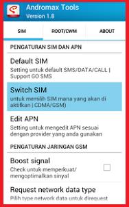 Cara Mengaktifkan Data Gsm Pada Smartfren Andromax Dunia