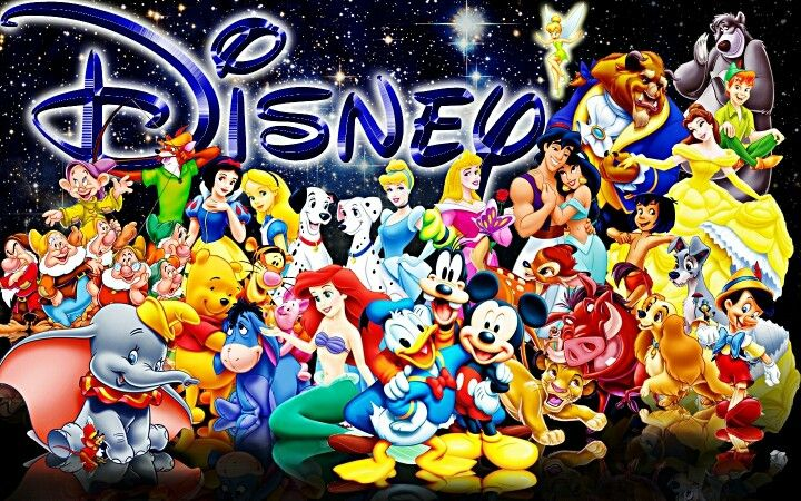 disney character collage galwp