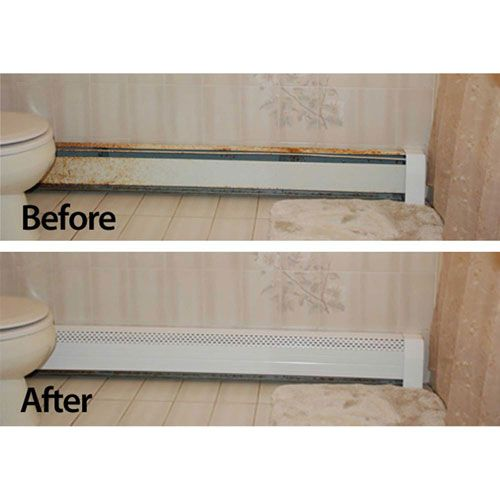 Kitchen Cabinets Over Baseboard Heat: Neatheat 4 Ft. Hot Water Hydronic Baseboard Cover