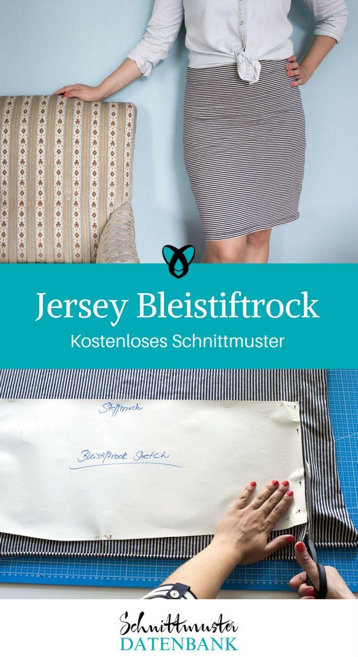Jersey Bleistiftrock Noch keine Bewertung. | Baby sewing, Sew baby ...