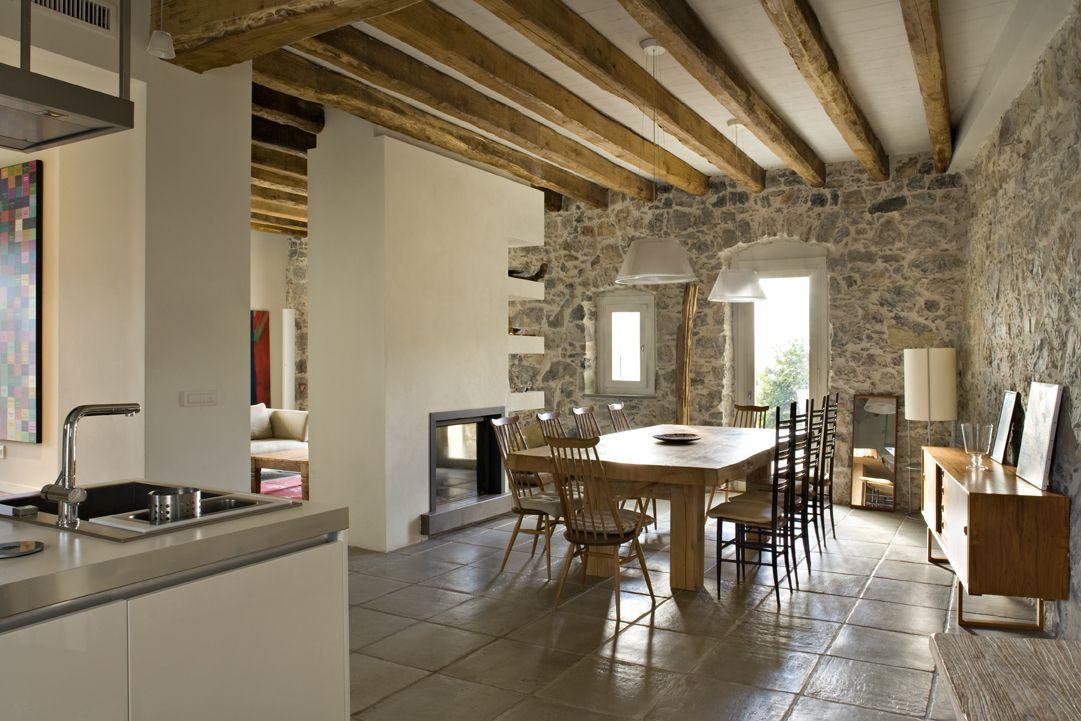 Il Recupero Di Un Antico Casale Ligure Mansarda It Interior Design Per La Casa Arredamento Rustico Moderno Arredamento