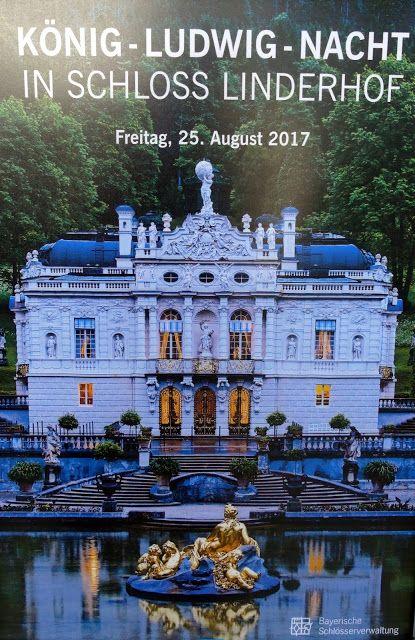 Konig Ludwig Nacht In Schloss Linderhof Impressions Photographiques 25 08 2017 Chateau De Neuschwanstein Capucine Affiche