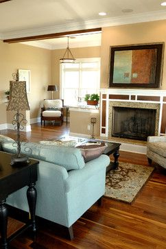 Sherwin Williams Interactive Cream Shown In Living Room