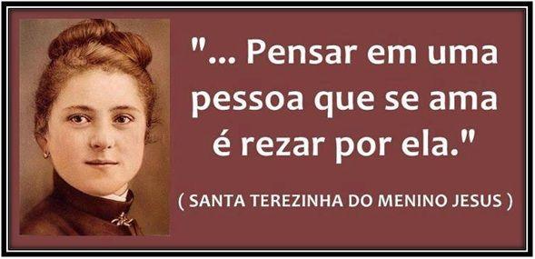 Santa Teresinha Frases Santa Teresinha Do Menino Jesus Pinterest