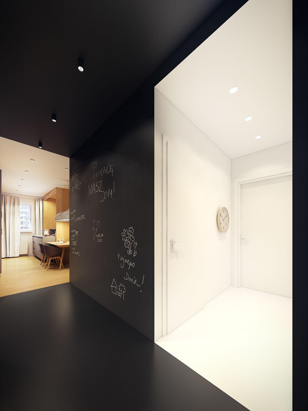 Moderne Zwei Zimmer Wohnung | Hall